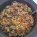 Quinoa succotash!