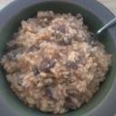Mushroom risotto!